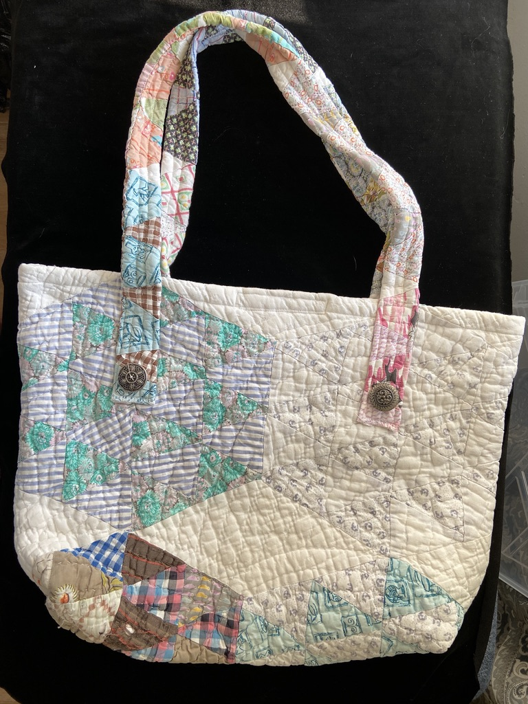 Antique Quilt Bag #2