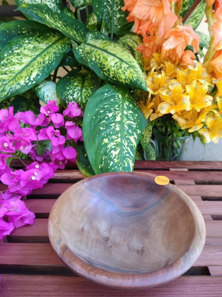 Farm Walnut Wood Bowl