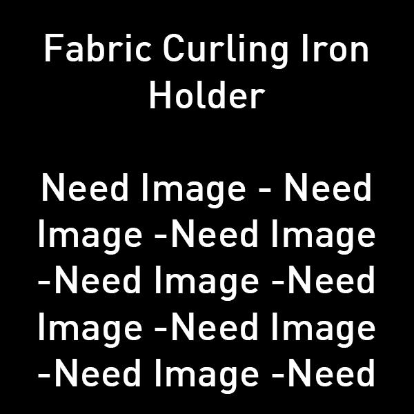Fabric Curling Iron Holder