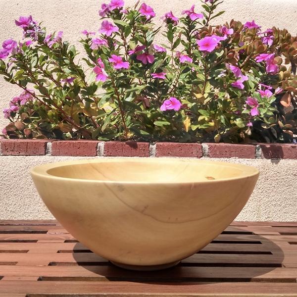 Bethany Light Wood Bowl