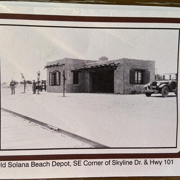Greeting Card: 1928 Solana Beach
