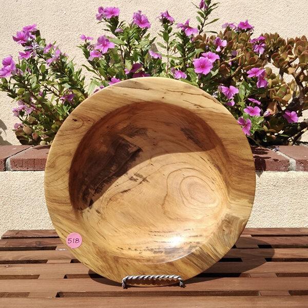 Red Elm Wood Bowl