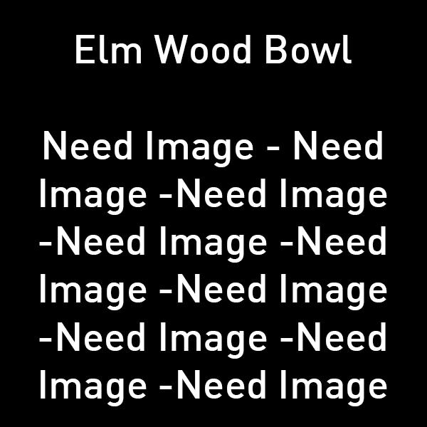 Elm Wood Bowl