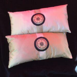 Pair of Asian Themed Pillows